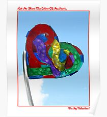 The Colors Of My Heart Poster
