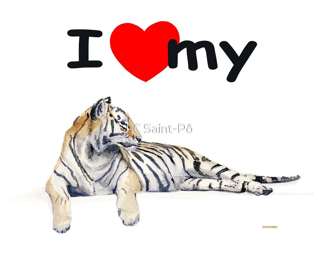 I love my Tiger (light) by J-C Saint-Pô