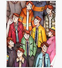 Dirk Gently Jacket Pattern Poster