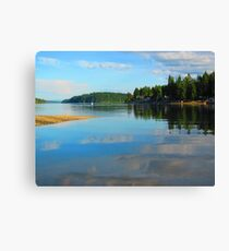 He Leads Me, He Restores Me Canvas Print