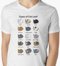 The Types of Cat Loaf Men's V-Neck T-Shirt