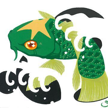 Astro Koi Green by SadoStyle