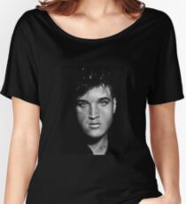 Elvis drawing Women's Relaxed Fit T-Shirt