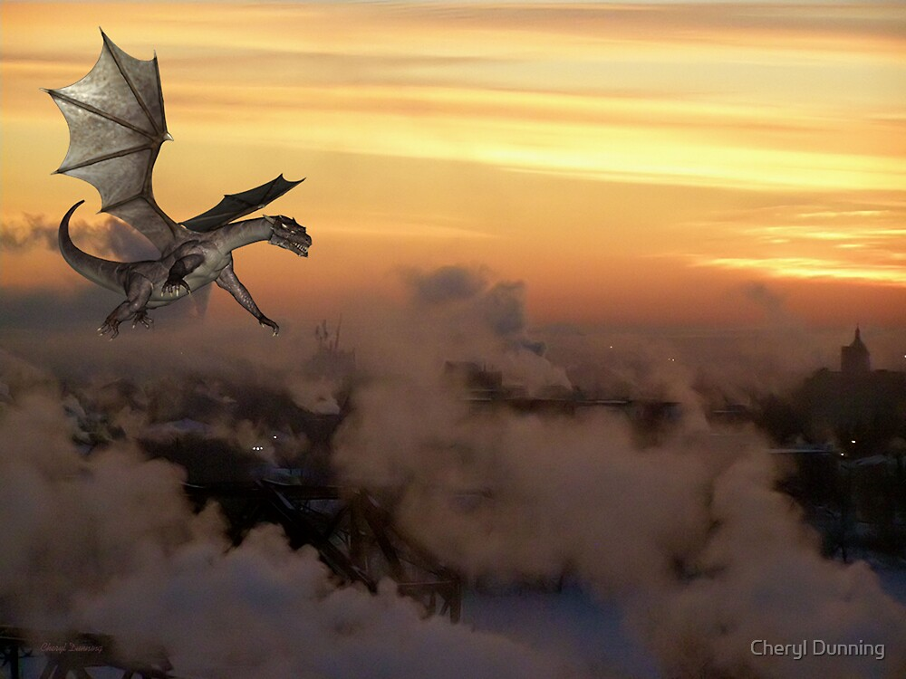 dragon sunrise by Cheryl Dunning