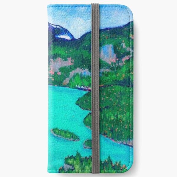 Diablo Lake, Cascade Mountains  iPhone Wallet