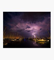 Flash of Lightning Photographic Print