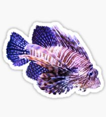 Lion Fish Sticker