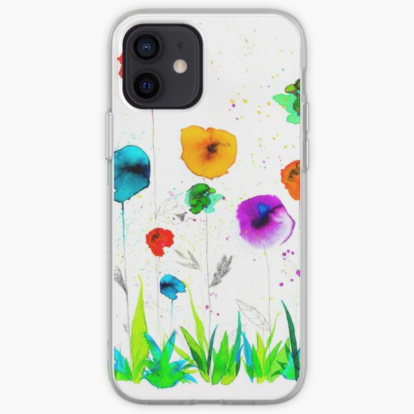 Flower power iPhone Soft Case