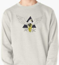Crow Geo Guts - Black & Gold Pullover