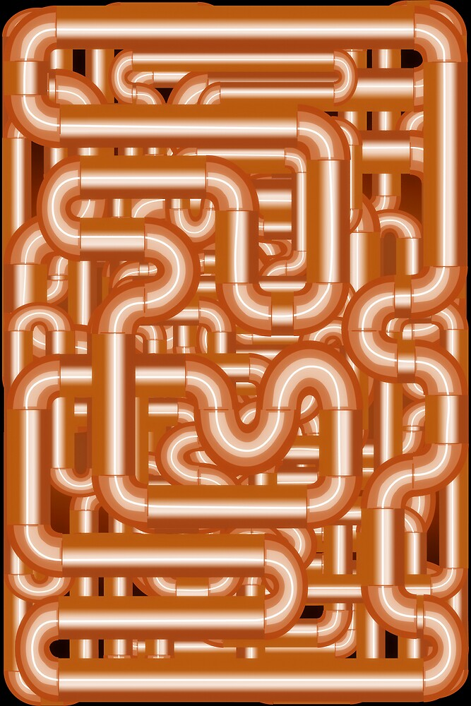 Pipes 2 by gary becker
