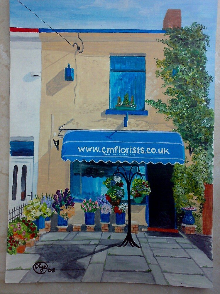 The Florist Shop at Garswood by Diane Ball