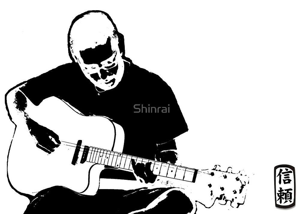 The Drummer plays Guitar by Shinrai