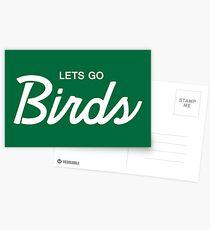 Lets Go Birds 3 Postcards