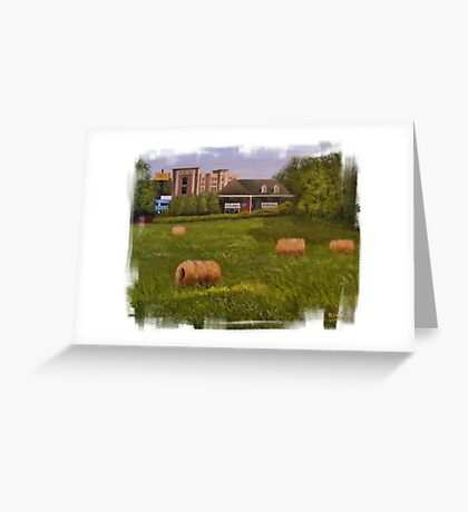 """""""A Little Bit of Country 2""""... prints and products Greeting Card"""