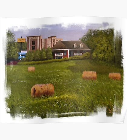"""""""A Little Bit of Country 2""""... prints and products Poster"""