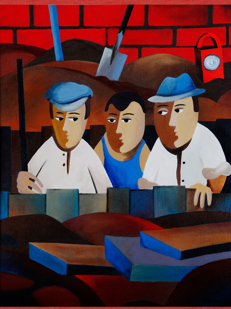 THREE MEN IN A TRENCH by arttas
