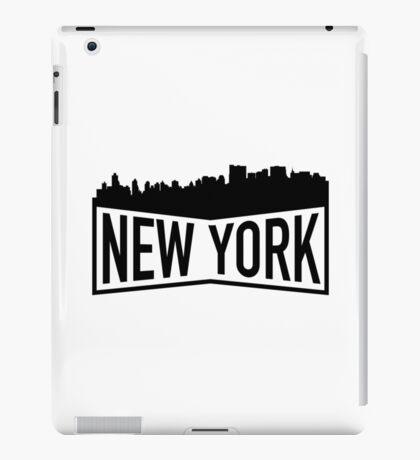 New York Cityscape iPad Case/Skin