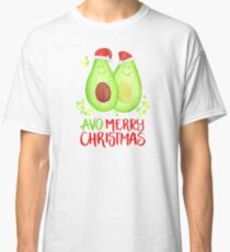 Avocado - Avo Merry Christmas Classic T-Shirt