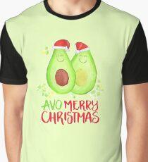 Avocado - Avo Merry Christmas Graphic T-Shirt