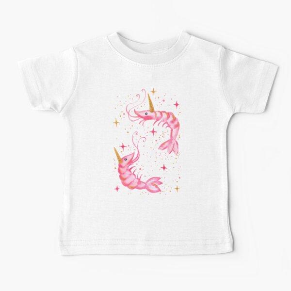 Uni-Prawn In Space - Black Baby T-Shirt