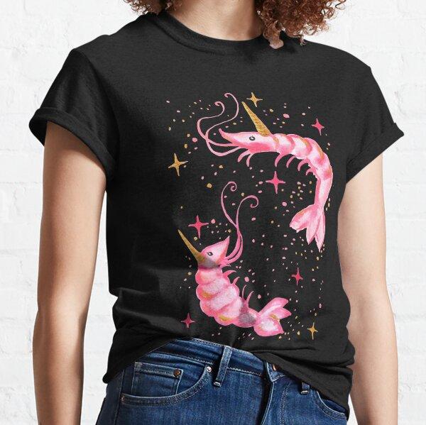 Uni-Prawn In Space - Black Classic T-Shirt