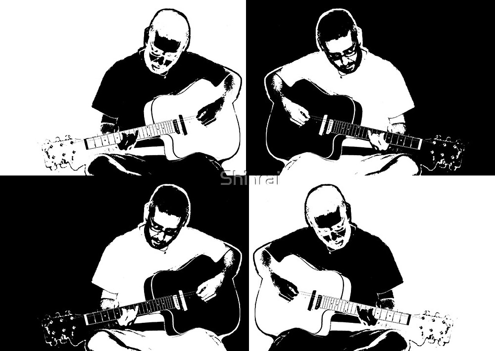 The Drummer Plays Guitar :: Invert by Shinrai