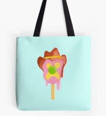Bubble O Bill (Green Nose) - Blue Tote Bag