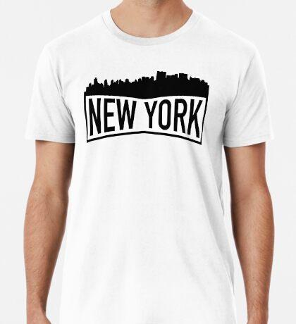 New York Cityscape Premium T-Shirt