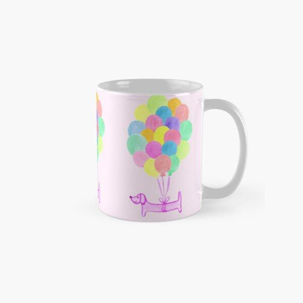 Pup Pup and Away! - Pink Classic Mug