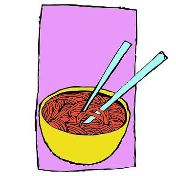 Spaghetti Soup by Chaparralia