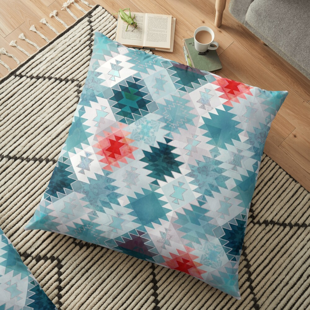 Soft Kilim Floor Pillow