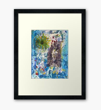Pan's Eye: Times as These Framed Print