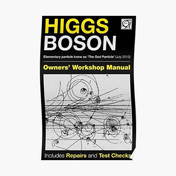 Owners Manual - Higgs Boson Poster