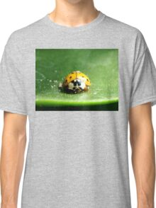 Ladybug on a leaf Classic T-Shirt
