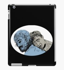 swiss army man - blue and grey iPad Case/Skin