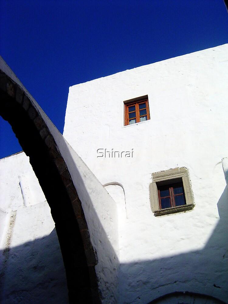 Blue Arches by Shinrai