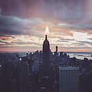 Empire State Candle by Monica Carvalho (mofart_photomontages)