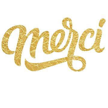 Merci (Gold) by kenova23