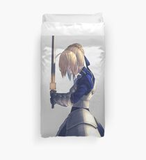 Saber Fate Stay night Duvet Cover