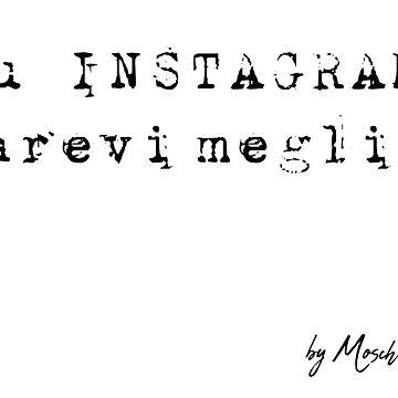Su Instagram parevi meglio by thestarshop00