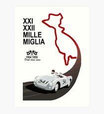 1954 - 1955 Mille Miglia 550 tribute Art Print