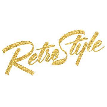 Retro style (Gold) by kenova23