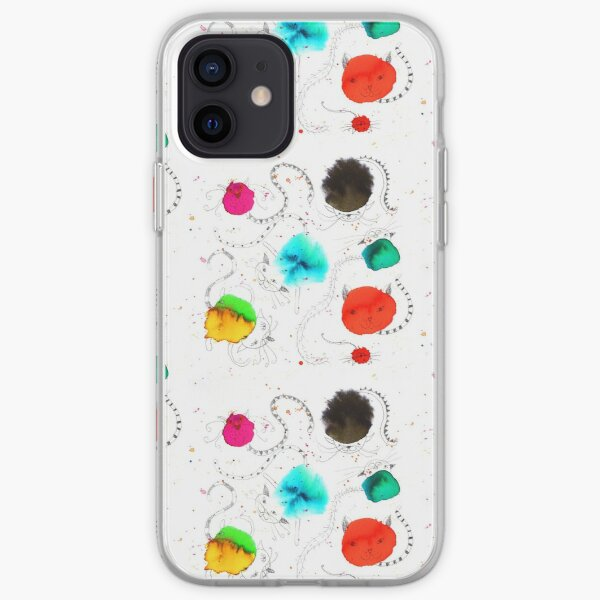 Cats on the roof iPhone Soft Case