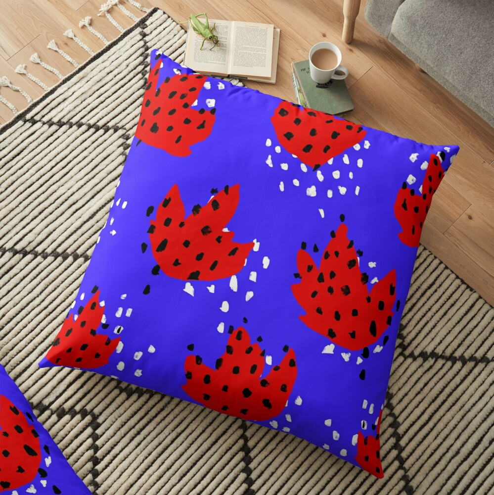 Spotted Floor Pillow