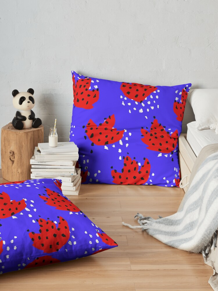 Alternate view of Spotted Floor Pillow