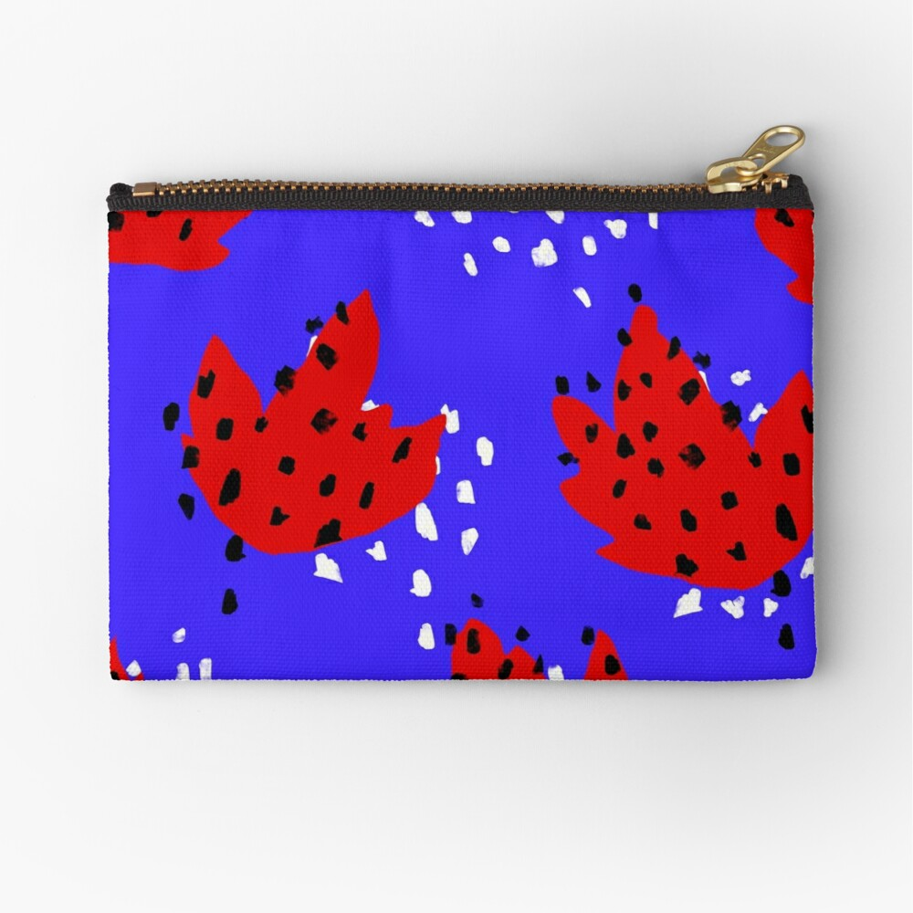 Spotted Zipper Pouch