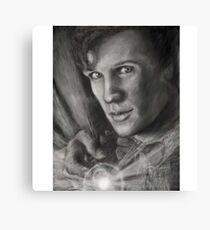Doctor Who digital sketch Canvas Print