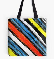 Colored Stripes (original drawing) Tote Bag