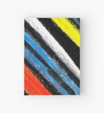 Colored Stripes (original drawing) Hardcover Journal