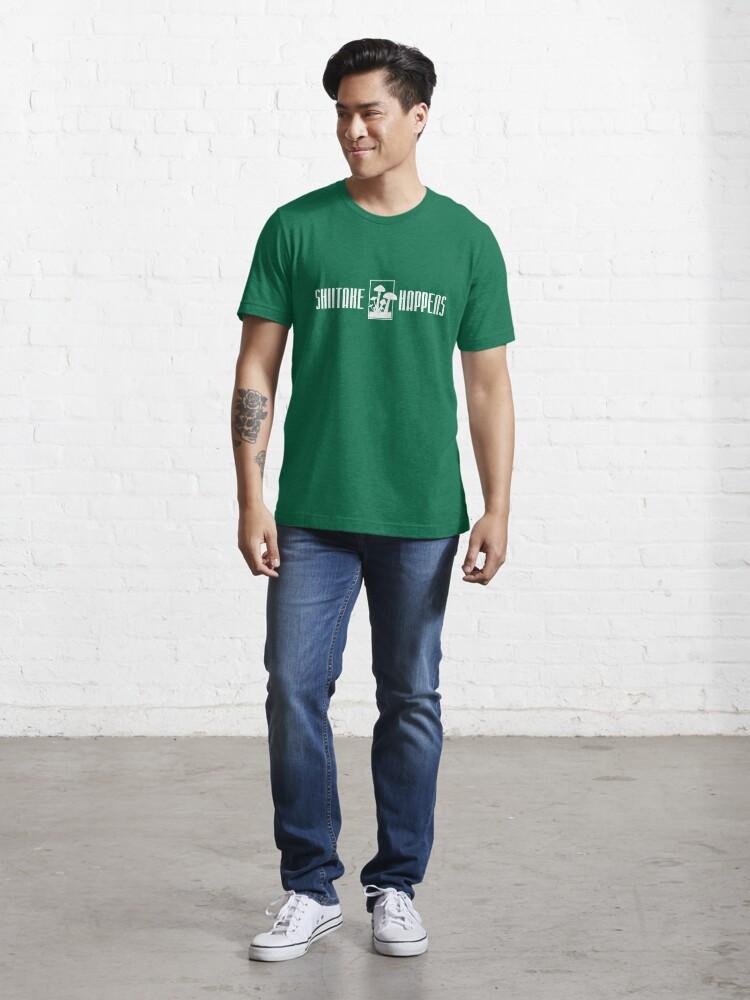 Alternative Ansicht von Shiitake Happens - Funny Food Pun Gift Essential T-Shirt